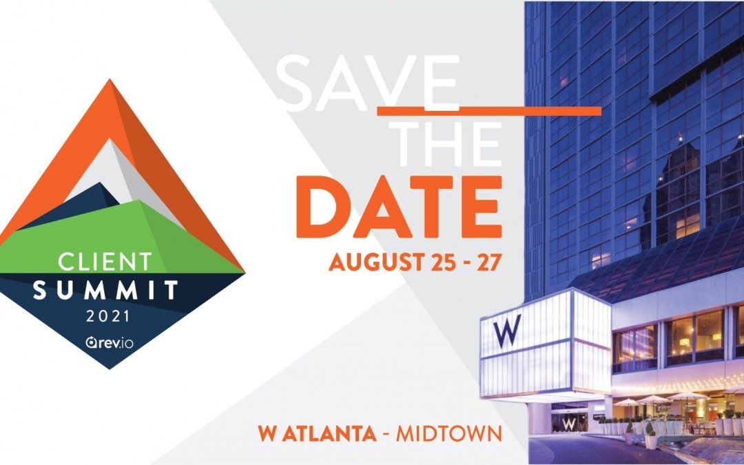 Cloud Age Solutions – Proud Sponsor at the 2021 Rev.io Client Summit – Aug 25-27
